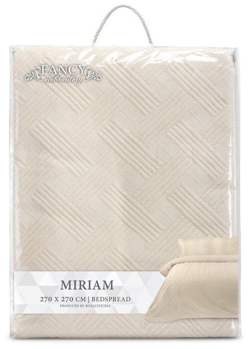 Fancy Embroidery Miriam sprei