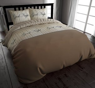 Dreamhouse Bedding Wood Goodnight dekbedovertrek