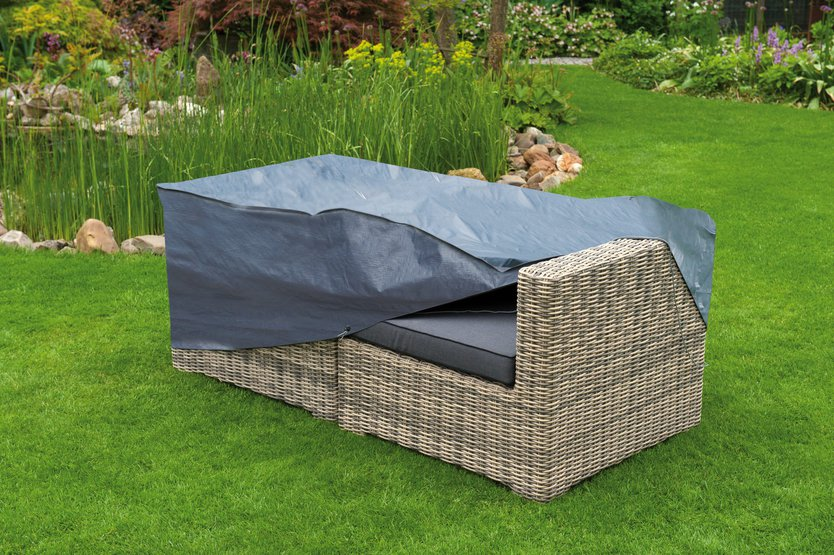 Nature cover for 2-seater lounge sofa