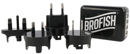 Brofish 4 port USB wall charger