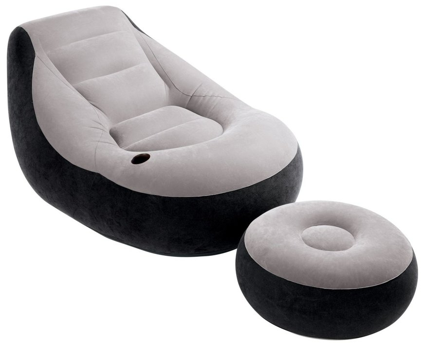 Comfortabele bel air retro fifties lounge rokers stoel