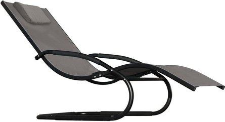 Vivere Wave Lounger garden chair