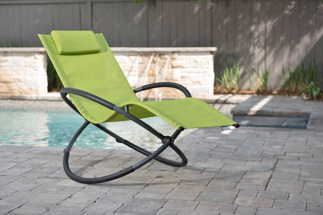 Vivere Orbital Lounger rocking chair