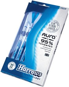 Harrows Aura ™ A1 95% Tungstenstål Steeltip
