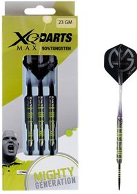 XQ Max MvG Mighty Generation 90% Tungsten darts