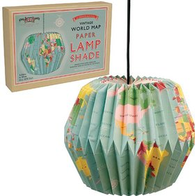 Lighthouse Trading Vintage Globe light shade