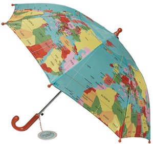 Lighthouse Trading Globe Kid's Umbrella