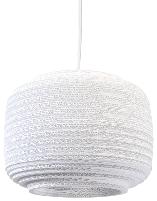 Graypants Ausi 12 White hanglamp