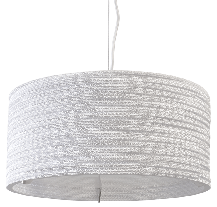 Graypants Drum 18 White hanglamp