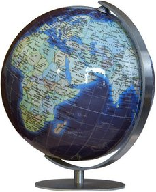 Columbus Duo Azzurro mini-globe