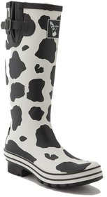 Evercreatures Cow rain boots