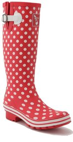 Evercreatures Ditsy Dots rain boots