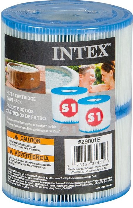 Intex Spa Filtercartridge S1 2 Stuks