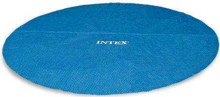 Intex 29023 - Cobertor solar para piscina Easy Set y Metal Frame, 457 cm