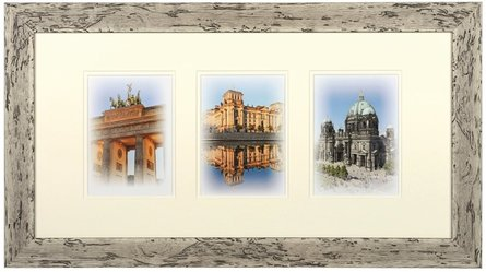 Henzo Capital Berlin Gallery Trio photo frame
