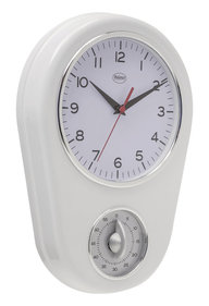 Balance Time Wall clock with kitchen timer