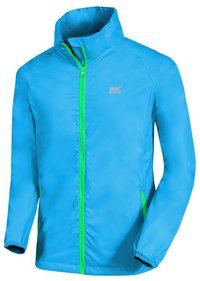 Mac in a Sac Neon Unisex Waterproof Packaway Jacket (Neon Blue, M)