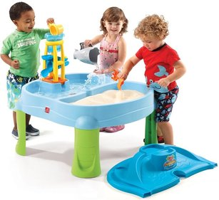 Step2 Splash & Scoop Bay sand and water table