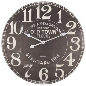Balance Time Old Town wall clock brown