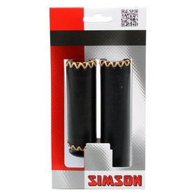 Simson handle leather short / long black