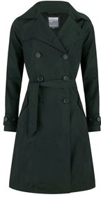 Happy Rainy Days twill bonded long trenchcoat Geneve dames