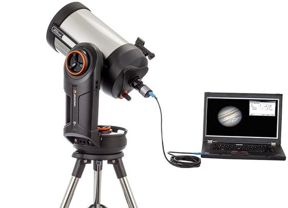 Control your telescope using stellarium arduino steps with