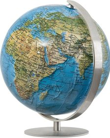 Columbus Duorama Mini Globe stainless steel