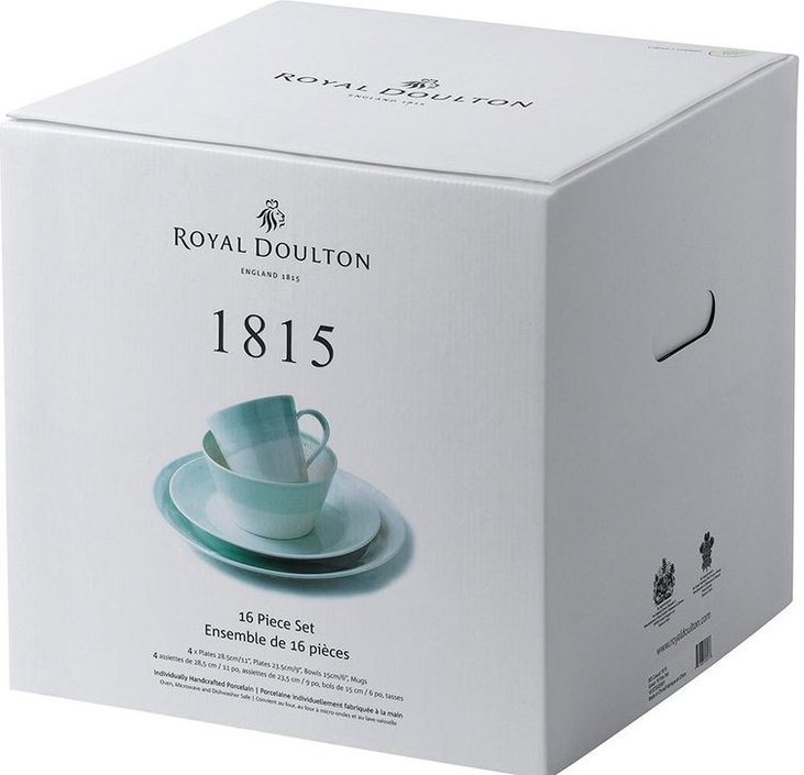 Royal Doulton 1815 16-teiliges Starterset