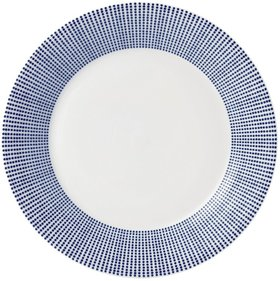 Royal Doulton Pacific breakfast plate Ø 23cm - dots