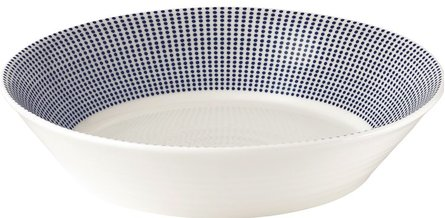 Royal Doulton Pacific pastabord Ø 22cm - dots