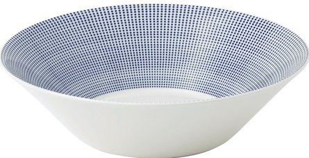 Royal Doulton Pacific serving dish Ø 29cm - dots