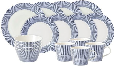 Royal Doulton Pacific 16-teiliges Starterset
