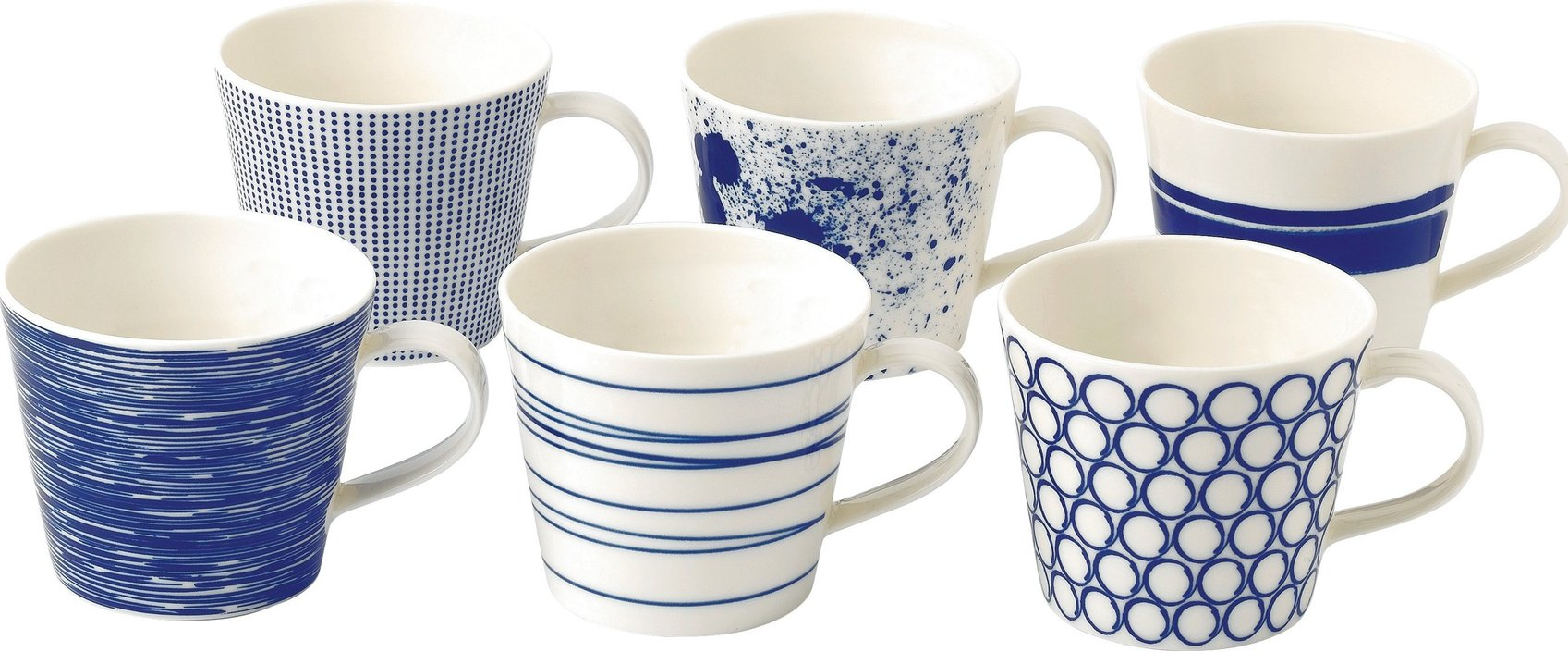 Royal Doulton Pacific Tasse 450ml - Set aus 6
