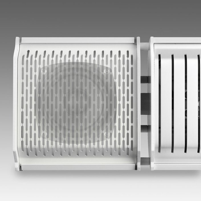 Eurom Heat and Beat terrasverwarmer met Bluetooth speaker