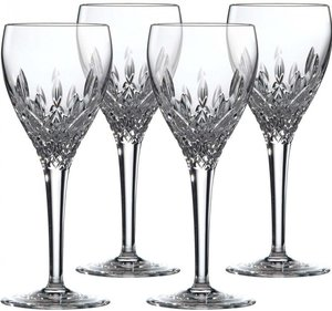 Royal Doulton Highclere rode wijnglas - set van 4