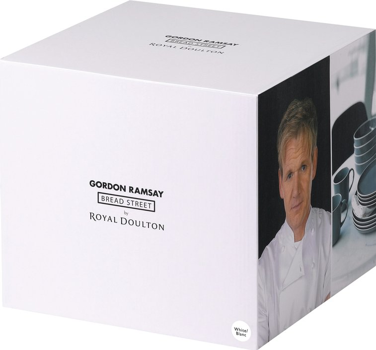 Royal Doulton Gordon Ramsay Bread Street 16-teiliges Starterset