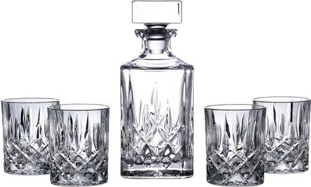 Royal Doulton Square Whiskyset - 5teilig