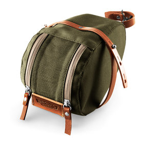 Brooks saddlebag Isle of Wight M grn