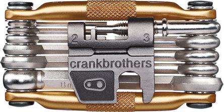 Crankbrother M17 toolset 17-delig goud