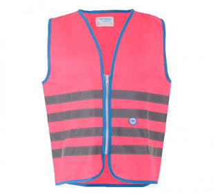 VEST WW FUN JACKET REFLECTIE ROZE L