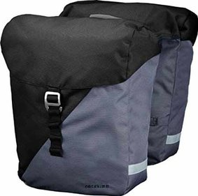 Racktime Vida double bicycle bag black