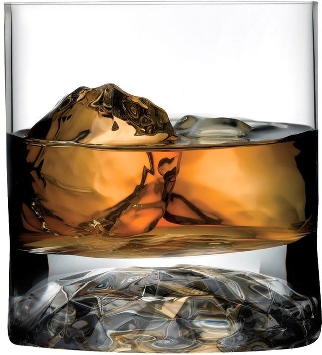 Nude Glass Club whiskyglas 250 ml - 4 glas
