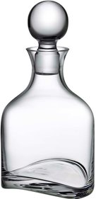 Nude Glass Arch whisky decanter