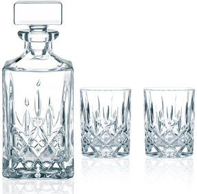 Nachtmann Noblesse whisky set 3-piece