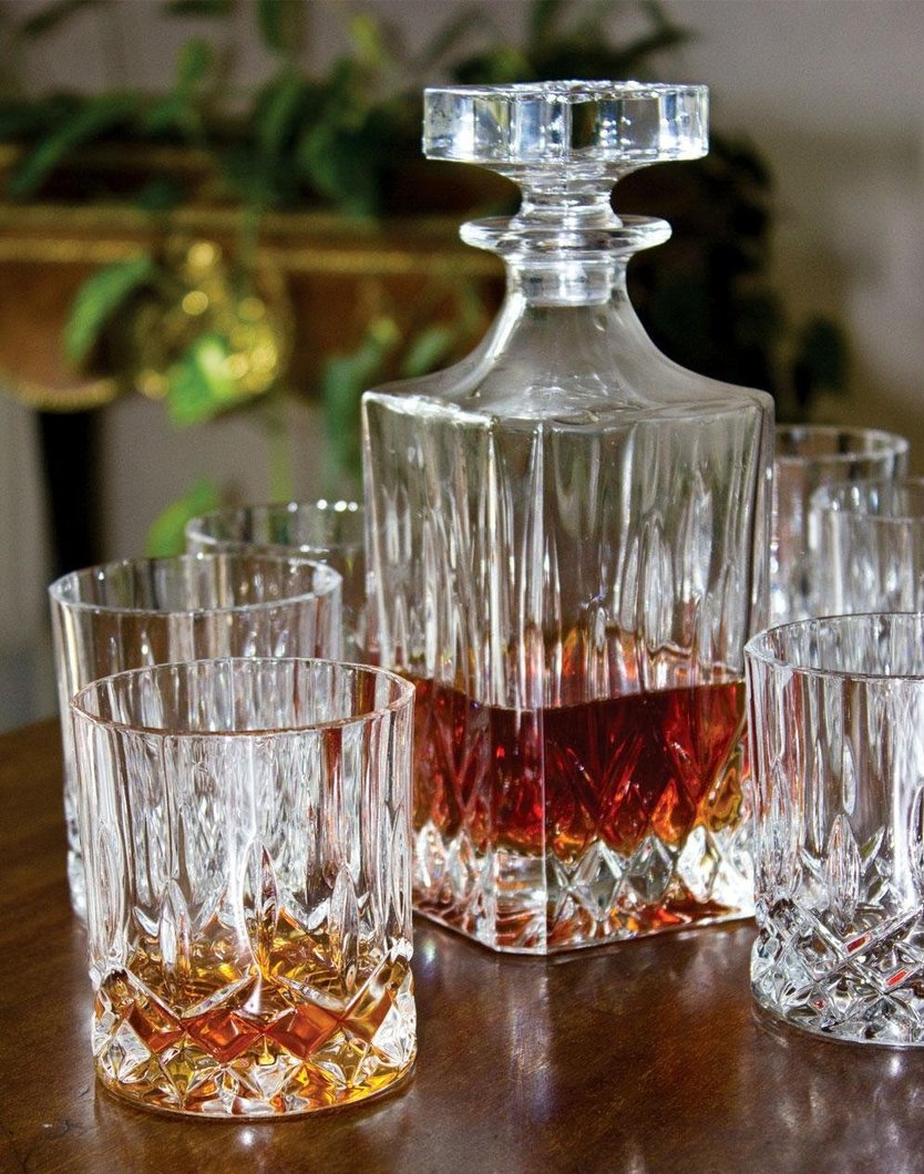 Royal Doulton Seasons Whiskyset - 7- teilig