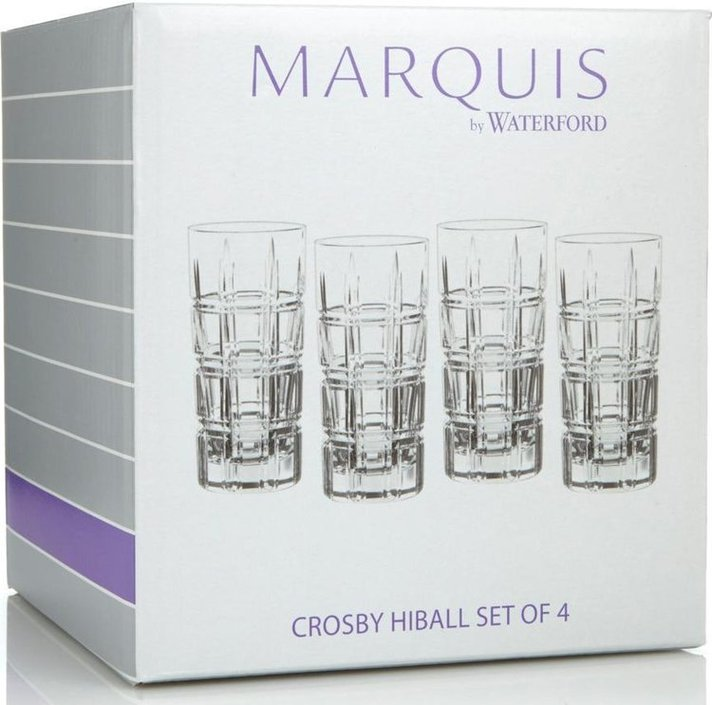 Waterford Marquis Crosby longdrinkglas - set van 4