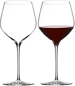 Waterford Elegance Wine Story Cabernet Sauvignon wine glass - set of 2