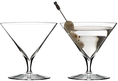 Waterford Elegance Wine Story Martini glas - uppsättning 2