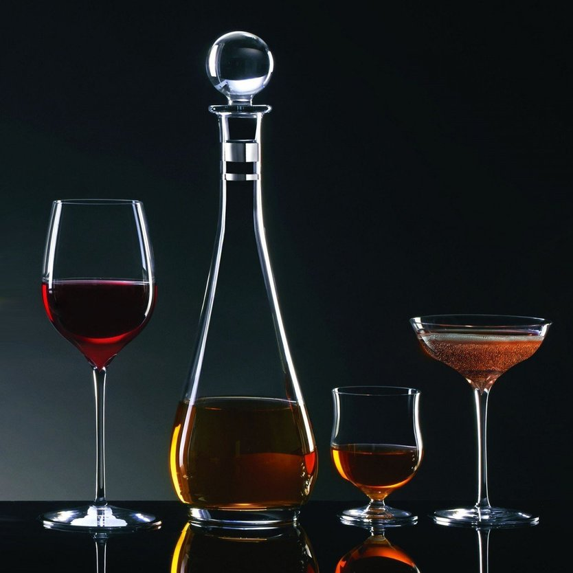 Waterford Elegance Wine Story Whisky Carafe