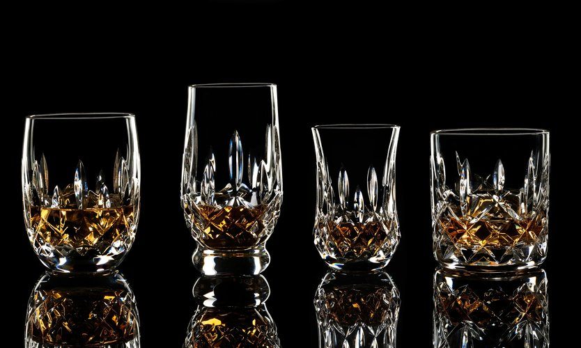 Waterford Lismore Connoisseur Mixed Tumblers - sæt med 4